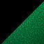 Black/Metallic Green