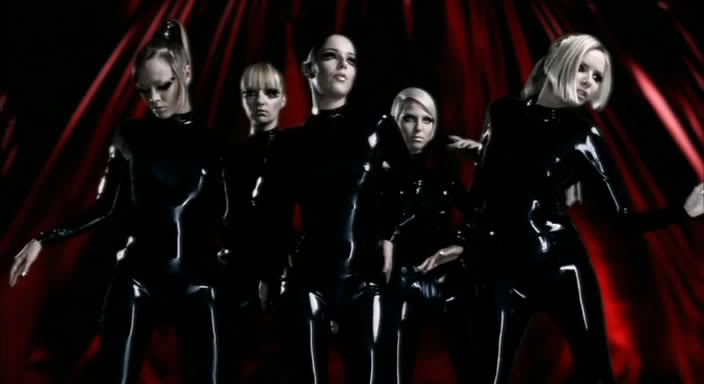 Girls Aloud in Libidex Catsuit