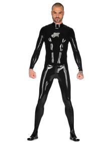 Male Two-Piece Catsuit
