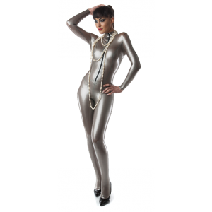 Half Zip Princess Catsuit