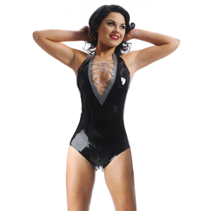 Crystal Halter Leotard
