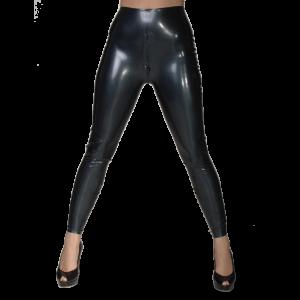 Female Matrix Leggings With Zip No Feet