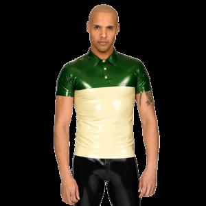 Two Tone Polo Shirt