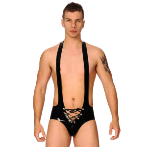Lace-up Mankini