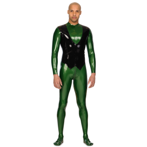 Rubber Butler Catsuit for Men