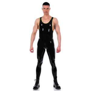 Vest Catsuit with trim