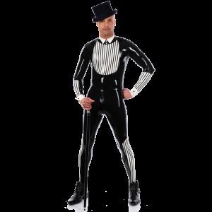 Tuxedo Catsuit