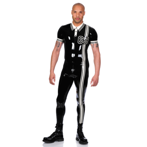 Digit Polo Catsuit