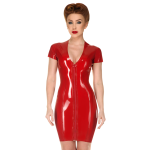 V-Neck Dress (short sleeves)