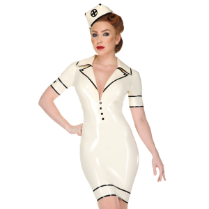 Black Cross Nurse Dress