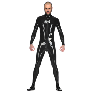 Latex Male Matrix Catsuit