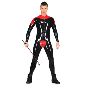 Latex Male Rider Catsuit