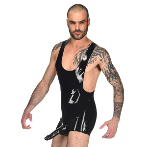 Johnny Wrestler Suit