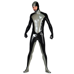 Latex Hero Catsuit for Men