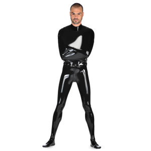 Latex Cocoon Catsuit for Men