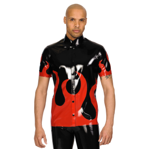 Flame Button Shirt