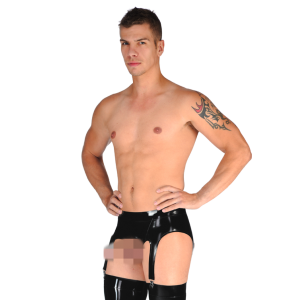 Exposed Suspender Briefs