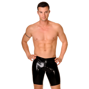 Zipper Cycle Shorts