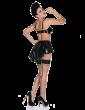Boulevard Peplum Skirt