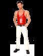 Y Back Vest with Trim