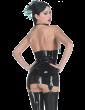 Dominique Suspender Skirt