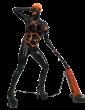 Latex Black Betty Catsuit for Men