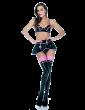 Claudette Peplum Skirt (Short)