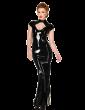 Diamond Hobble Dress