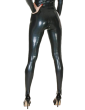 Matrix Leggings (with feet and zip)