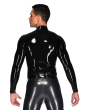 Diamond Zipper Top (Long Sleeves)