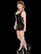 Cherry Pie Suspender Dress