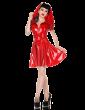 Scarlet Swing Dress