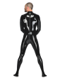 Rubber Neo Catsuit with Back zip for Men