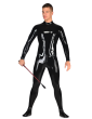 Latex Bum Out Catsuit for Men