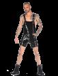 Dungaree Shorts