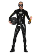 Rubber Male Speedy Catsuit for Men