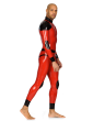 Latex Patch Catsuit for Men