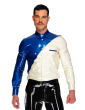 Diagonal Button Shirt (Long Sleeves)