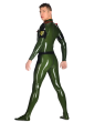 Latex Male Military Catsuit