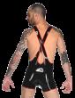 Zipper Luchador Suit