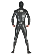 Rubber Male Electron Catsuit Back
