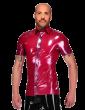 Trimmed Button Shirt (Short Sleeves)
