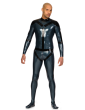 Rubber Harness Catsuit for Men