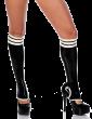 Stripe Knee Socks