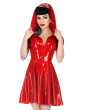Scarlet Swing Dress