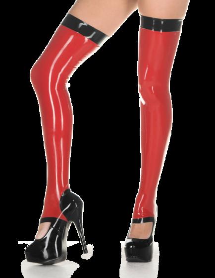 Stirrup Stockings with trim