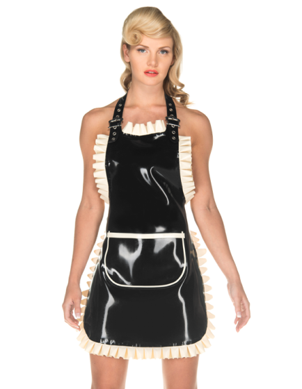 Frilly Apron (Long)