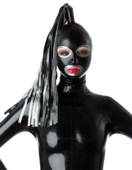 Full Face Hood with Single Streamer