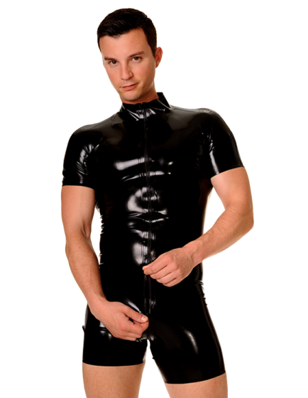 Round Collar Surfsuit (Short Sleeves)