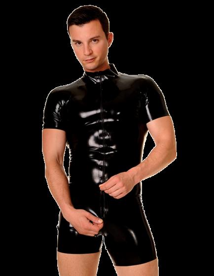 Round Collar Surfsuit Short Sleeves